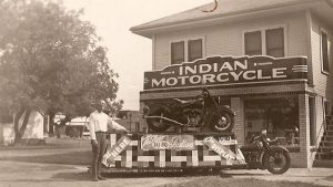 Historic Indian Motorcycle